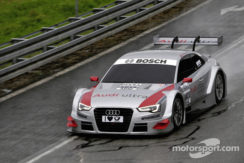 Audi drivers are fit for the new A5 DTM