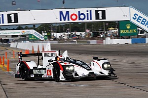 ALMS Graf puts Muscle Milk on ALMS P1 pole in Sebring