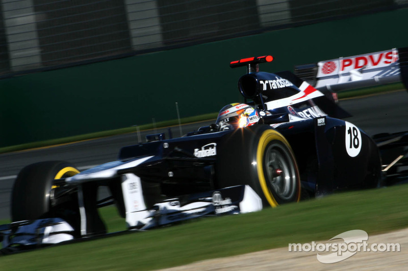 Williams Australian GP - Melbourne qualifying report