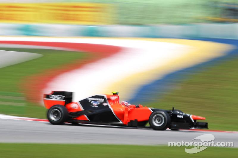 Marussia Malaysian GP - Sepang Friday report