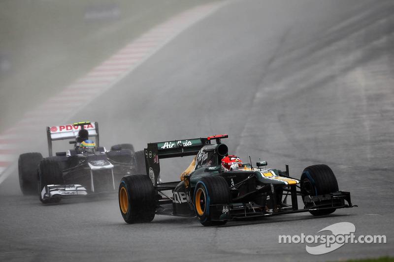 Caterham Malaysian GP - Sepang race report