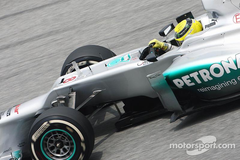 Mercedes Malaysian GP - Sepang qualifying report