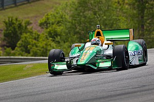 IndyCar Lotus HVM Racing Birmingham race report