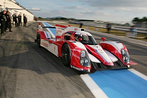 Crash in test at Paul Ricard delays debut of Toyota Hybrid