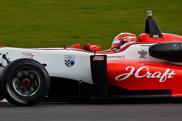 Lynn on top in Monza British F3 free practice