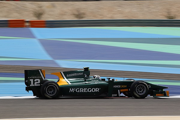 Van der Garde steals the show in Sakhir to take pole position