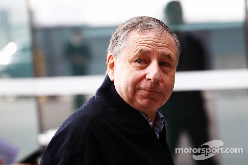 Jean Todt visits HRT Formula 1 Team's new facilities