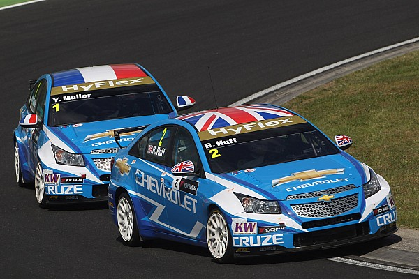 Huff claims his first 2012 pole at Salzburgring