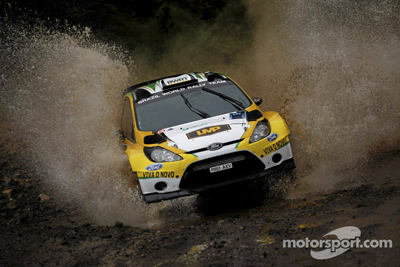 Brazil WRT Acropolis Rally Thursday report