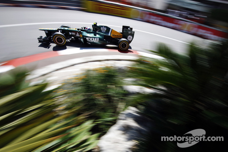 Caterham Monaco GP Thursday report