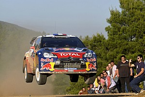 WRC Citroen's Loeb and Elena hold onto the lead of Acropolis Rally