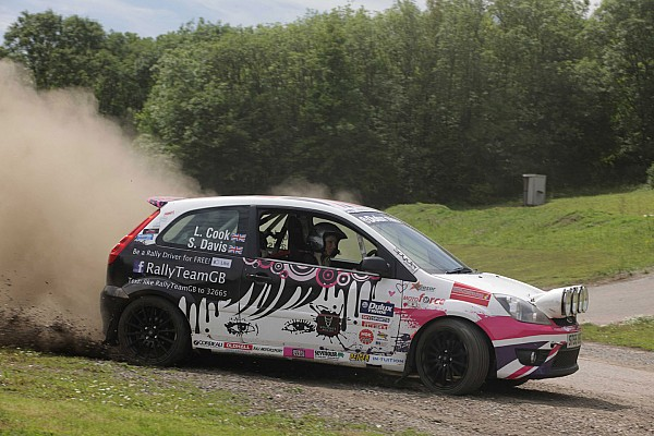 British Rally driver Louise Cook selling her trophies to keep dream alive