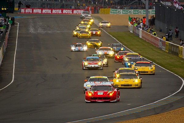 Ferrari and Corvette split GT wins