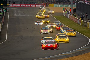 Le Mans Ferrari and Corvette split GT wins