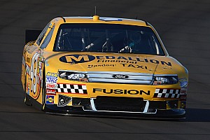 Almirola takes taxi themed car to the road course at Sonoma
