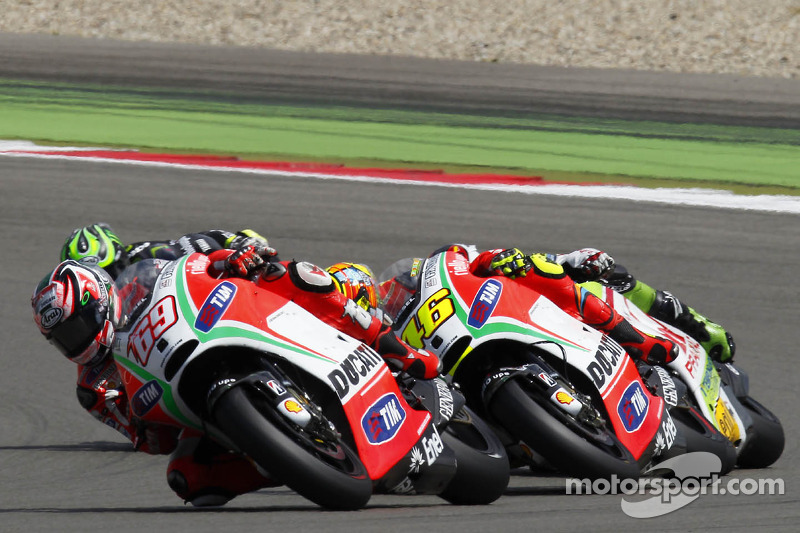 Hayden sixth at Dutch TT, Rossi thwarted by a problem
