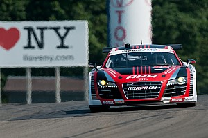 Grand-Am Qualifying report Stippler takes APR Audi R8 to GT front row at Watkins Glen