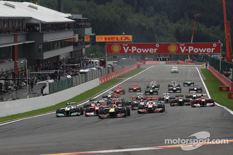 Promoter confirms Spa race alternation idea off