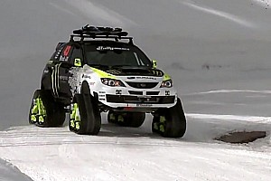 Formula Drift Special feature Ken Block's Trax STI Car - Video