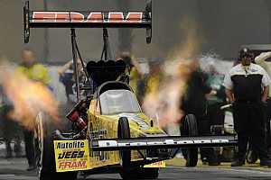 NHRA Preview Massey hopes to improve last year's Norwalk finish by one spot