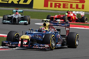 Formula 1 Race report Tyre Strategy the key at a dry Silverstone Circuit