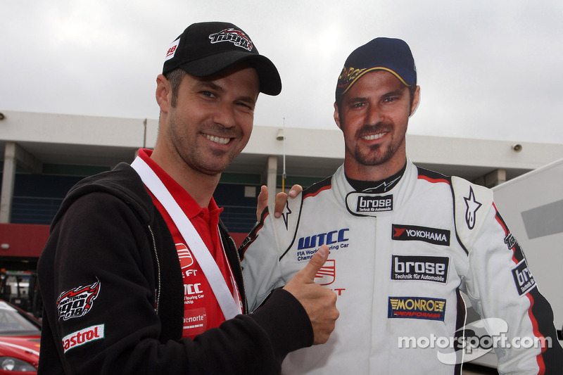 Monteiro represents the WTCC in USA visit