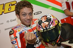MotoGP Special feature Valentino Rossi's New Helmet Design