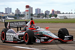 IndyCar Qualifying report Hildebrand, Panther plan to make engine change in Edmonton