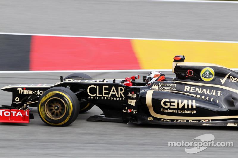 Podium finish for Lotus F1 Team in German Grand Prix