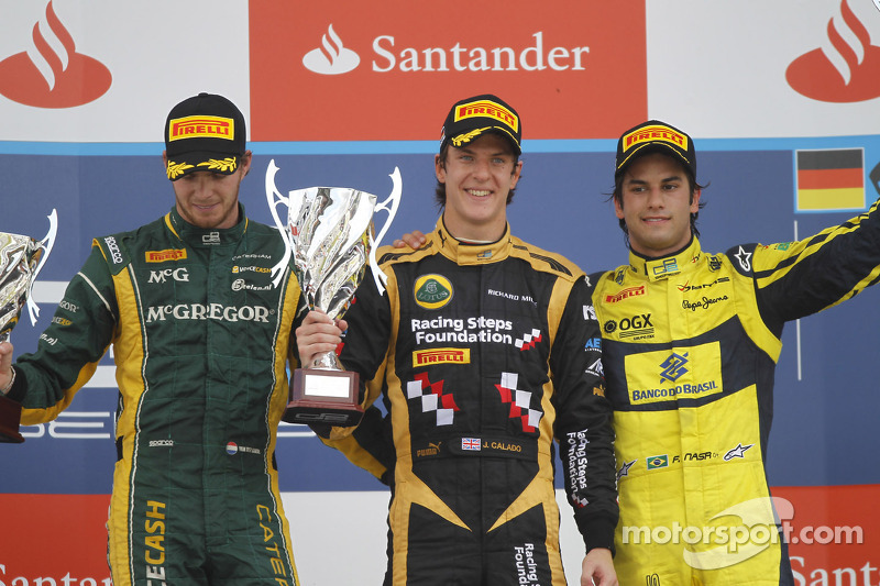 Calado dominates for sprint victory at Hockenheim