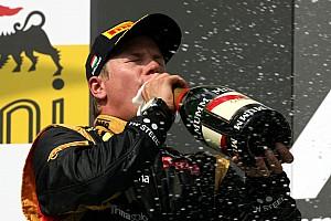Raikkonen on podium at Hungaroring: So close to the win but it didn't quite come