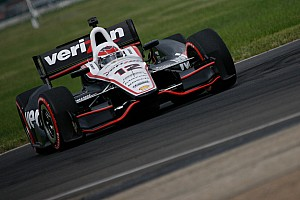 IndyCar Practice report Will Power fastest on first day of practice at Mid-Ohio