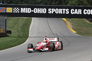 IndyCar Qualifying report Misfire thwarts possible pole for Wilson at Mid-Ohio