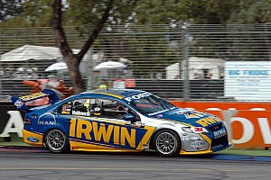 V8 Supercars Race report Dramatic exit for Lee Holdsworth at Queensland Raceway