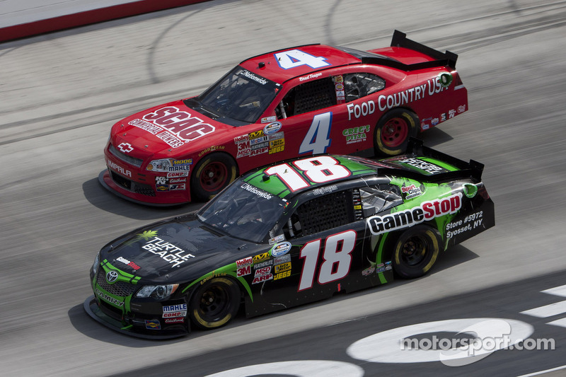 Logano returns to the No. 18 for the Nationwide race at The Glen