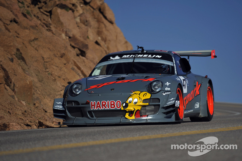 Romain Dumas continues his discovery of Pikes Peak