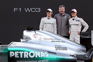 2012 car 'good basis' for next Mercedes - Brawn