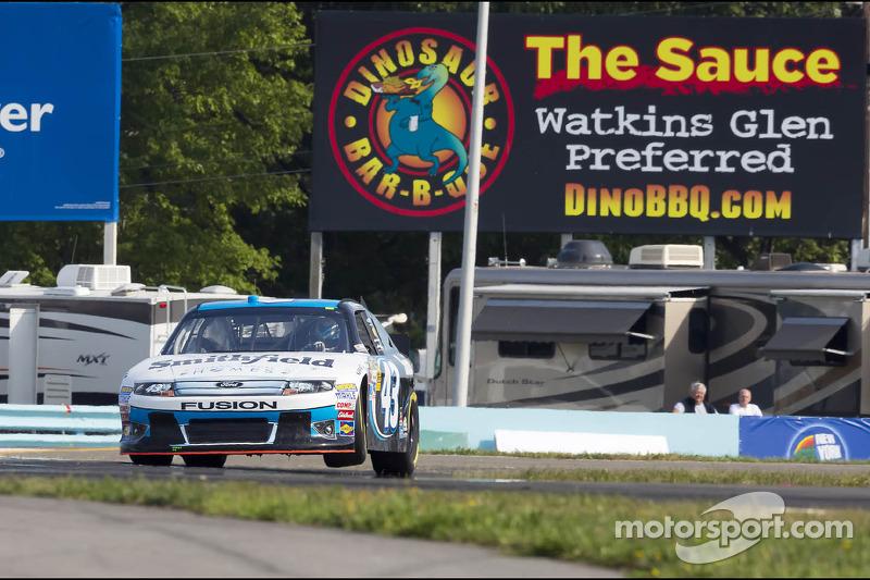 Ambrose last-Lap pass wins Watkins Glen for Richard Petty Motorsports