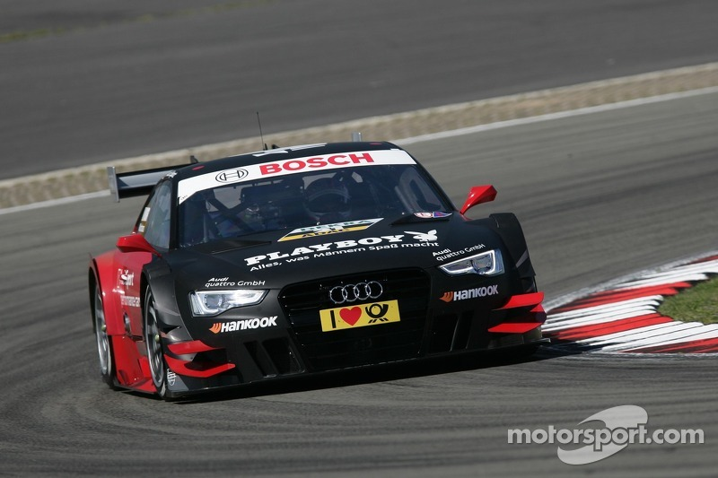 Audi qualifies three cars in top four at the Nürburgring