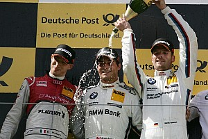 DTM Race report Spengler makes his mark in title battle with Nürburgring victory