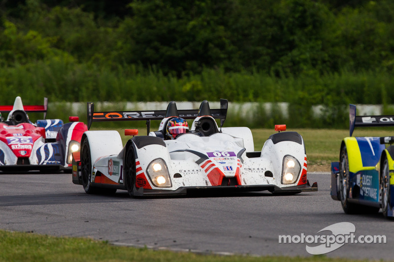 CORE clinches 2012 ALMS team championship with 1-2 finish at Road America