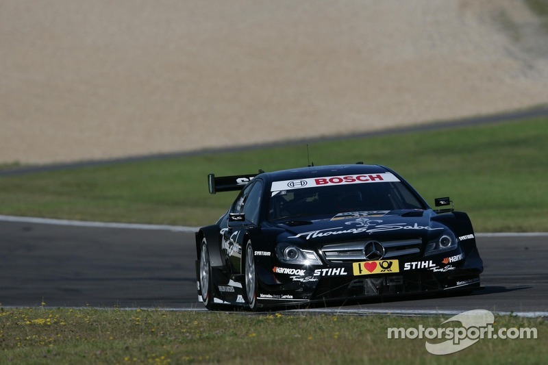 Green takes top finish for Mercedes at Nürburgring