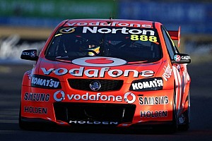 Supercars Race report Lowndes hungry for championship, grabs SMP's race 1 win