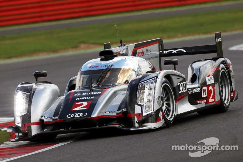 Grid positions one and two for Audi at Silverstone