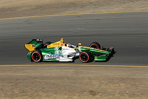 IndyCar Race report De Silvestro gains 10 positions to finish 17th at Sonoma