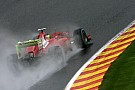 Ferrari adapt their Friday work to Spa track conditions