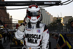 ALMS Qualifying report Muscle Milk Pickett Racing tops in qualifying at Baltimore