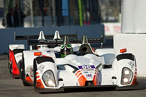 ALMS Qualifying report CORE autosport starting second and third in Baltimore