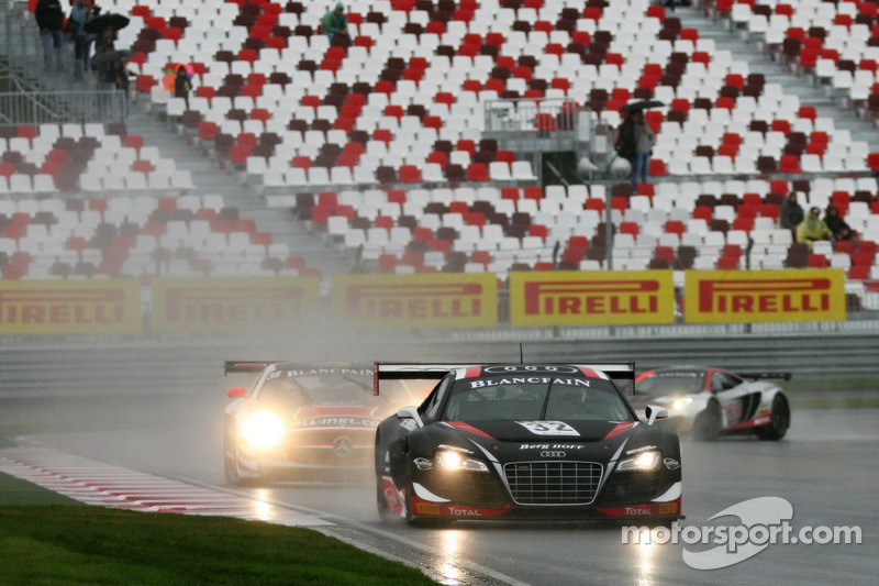 The Belgian Audi Club Team WRT back to victory lane in Moscow!