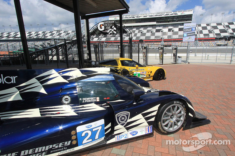 Dempsey Racing represents at Grand-Am/ALMS merger announcement in Daytona